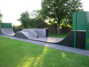 Whitminster Skateboard ramp