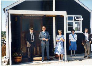 Opening of Whitminster Pavilion 1987